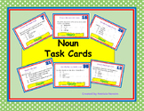 Noun Task Cards Elementary, Middle School, Home School