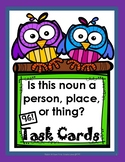 Nouns for First Grade Task Cards