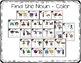 Kindergarten Noun Task Cards with Anchor Charts & Games