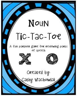 Noun Tic Tac Toe