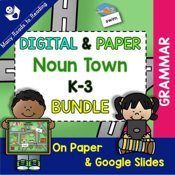 Noun Town DIGITAL& PAPER K-3