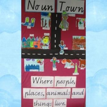 Noun Town Display