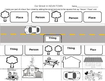 Noun Town Street