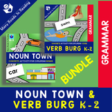 Noun Town and Verb Burg K-2 BUNDLE