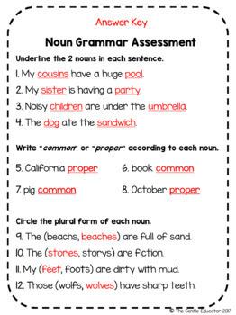 Noun Unit Test