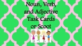 Noun, Verb, Adj Task Cards/ Literacy Center Activities/ Worksheets