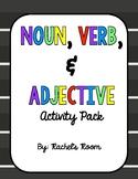 Noun, Verb, & Adjective Activity Pack