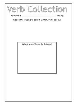 Noun, Verb, Adjective, Adverb Collection