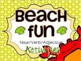 Noun, Verb, Adjective Beach Fun! CCSS