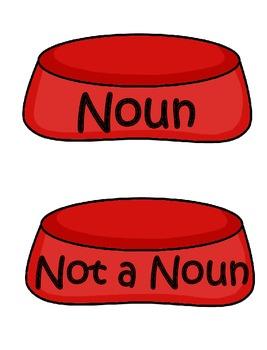 Noun, Verb, & Adjective Centers and Activities