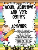 Noun, Verb, & Adjective Centers and Activities