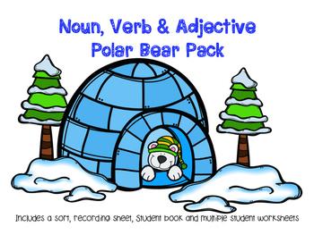 Noun, Verb, Adjective Polar Bear Pack