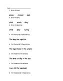 Noun, Verb, Adjective Review