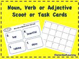Noun Verb Adjective Scoot/Task Cards
