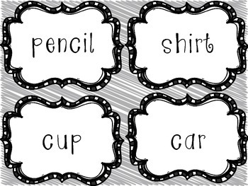 Noun, Verb, Adjective Sort, List, and Use in a Sentence Literacy Center