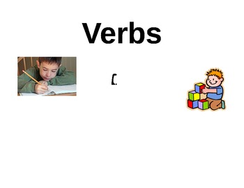 Noun, Verb & Adjective Student practice