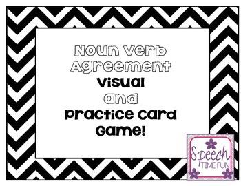 Noun-Verb Agreement FREEBIE