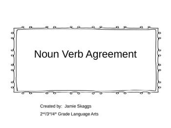 Noun Verb Agreement