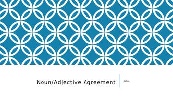 Noun Verb Agreement in Italian