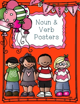 Noun & Verb Poster Freebie!