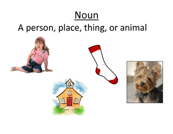 Noun & Verb Posters