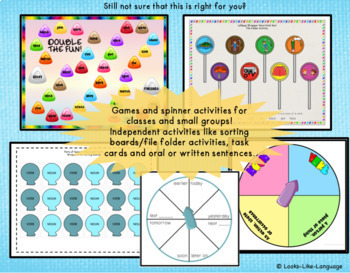 Parts of Speech Game- Identifying and Using Nouns and Verbs