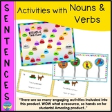 Sentence Building | Activities with Nouns and Verbs | Mult