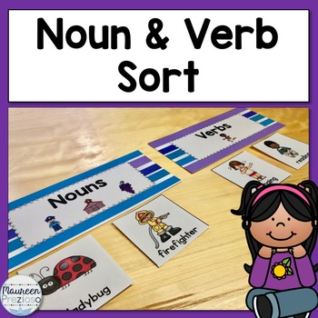 Nouns and Verbs Sort