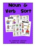 Noun & Verb Sorting