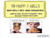 Noun-Verb Adapted Book & Discret Trial Picture Cards for S