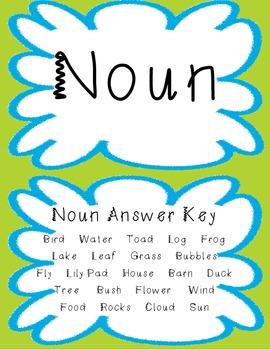 Noun, Verb, and Adjective Stack