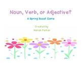 Noun, Verb, or Adjective {A Spring Scoot Game}