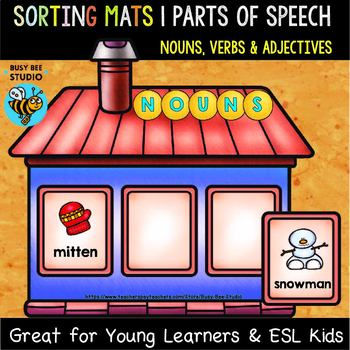 Noun, Verb or Adjective Sorts | Sorting Mats
