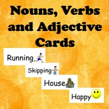 Noun, Verbs, Adjective Words