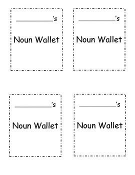 Noun Wallet