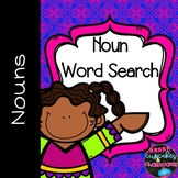 Nouns Word Search   Identifying Nouns and Wordsearch May M