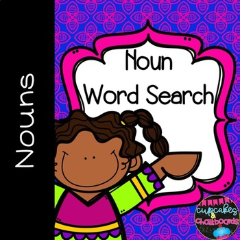 Noun Word Search - Identifying Nouns and Wordsearch