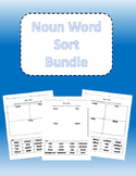 Noun Word Sort Bundle