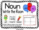 Noun Write the Room- Includes 3 levels of answer sheets