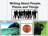 Noun Writing Brainstorming