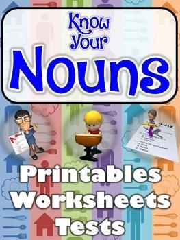 Noun You're Talking! Noun Printables