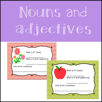 Noun and Adjective Practice Powerpoint