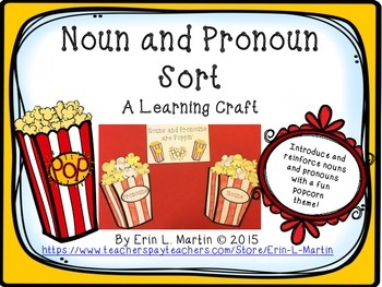 Noun and Pronoun Learning Craft