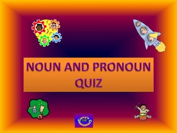 Noun and Pronoun Quiz