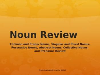 Noun and Pronoun State Test Review (editable)