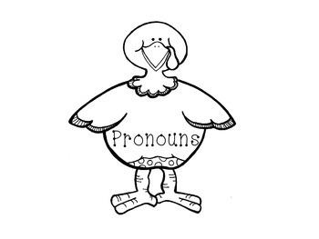 Noun and Pronoun Thanksgiving Learning Craft