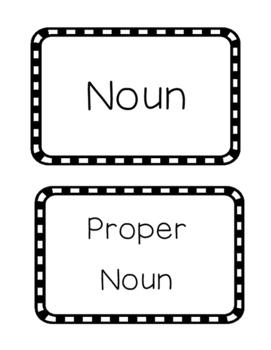 Noun and Proper Noun Sort