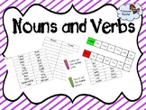 Noun and Verb Activity Pack