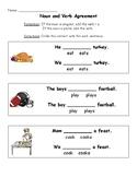 Noun and Verb Agreement Practice