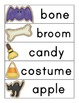 Noun and Verb Halloween Cookie Word Sort